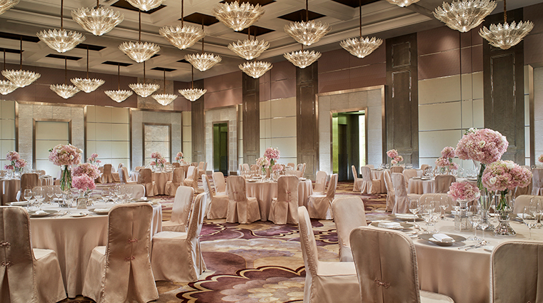 Property TheRitzCarltonBeijingFinancialDistrict Hotel PublicSpaces BallroomWedding TheRitzCarltonHotelCompanyLLC