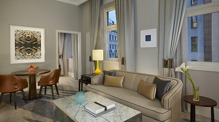 Property TheRitzCarltonBudapest Hotel GuestroomSuite CarltonSuiteLivingRoom TheRitzCarltonHotelCompanyLLC
