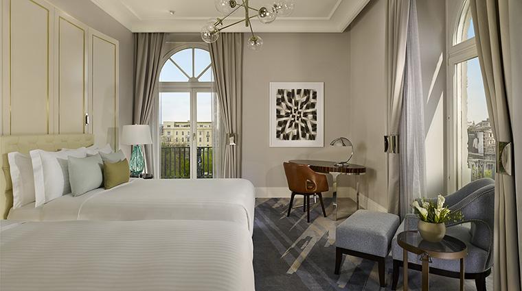 Property TheRitzCarltonBudapest Hotel GuestroomSuite DeluxeDoubleRoom TheRitzCarltonHotelCompanyLLC