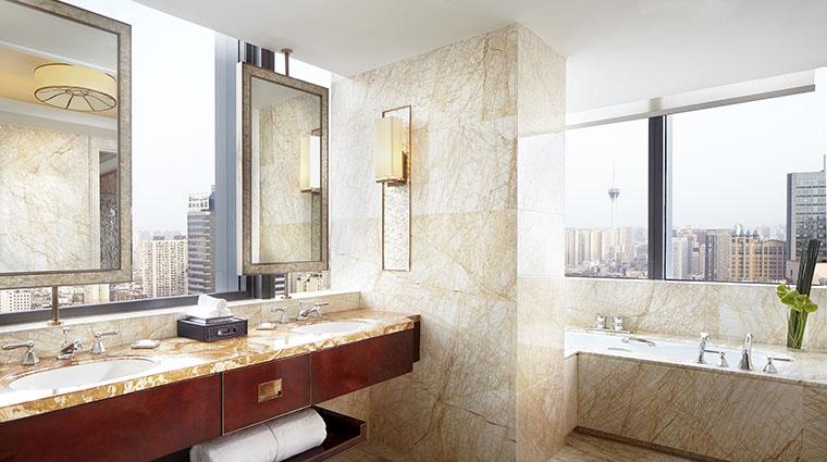 Property TheRitzCarltonChengdu Hotel GuestroomSuite TheRitzCarltonSuiteBathroom TheRitzCarltonHotelCompanyLLC