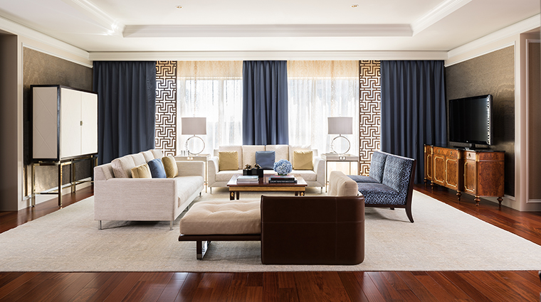 Property TheRitzCarltonDallas Hotel GuestroomSuite RitzCarltonSuiteLivingRoom TheRitzCarltonHotelCompanyLLC