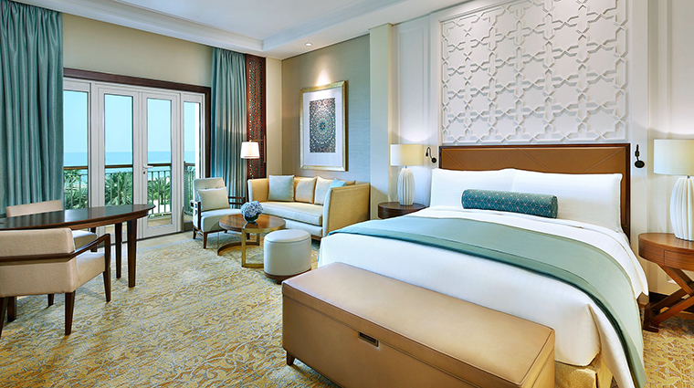 Property TheRitzCarltonDubai Hotel GuestroomSuite OceanDeluxeRoom TheRitzCarltonHotelCompanyLLC