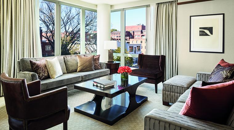 Property TheRitzCarltonGeorgetownWashingtonDC Hotel GuestroomSuite AmbassadorSuiteLivingRoom TheRitzCarltonHotelCompanyLLC