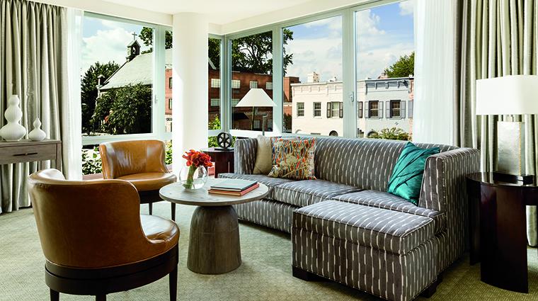 Property TheRitzCarltonGeorgetownWashingtonDC Hotel GuestroomSuite PremierOneBedroomSuiteLivingRoom TheRitzCarltonHotelCompanyLLC