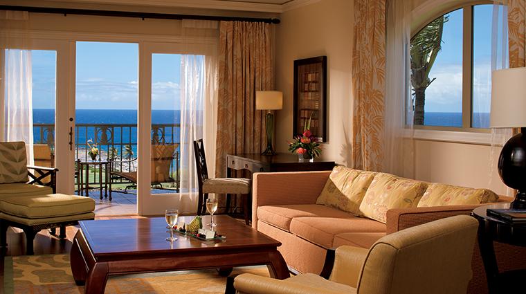 Property TheRitzCarltonKapalua Hotel GuestroomSuite OceanFrontSuite TheRitzCarltonHotelCompanyLLC