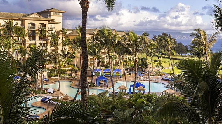 Property TheRitzCarltonKapalua Hotel PublicSpaces PoolView TheRitzCarltonHotelCompanyLLC