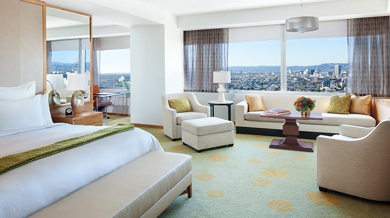Property TheRitzCarltonLosAngeles Hotel GuestroomSuite JuniorSuite TheRitzCarltonHotelCompanyLLC