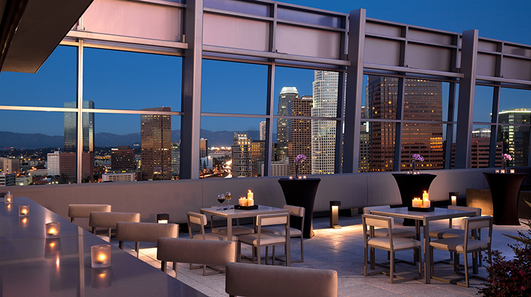 Property TheRitzCarltonLosAngeles Hotel PublicSpaces RooftopPatio TheRitzCarltonHotelCompanyLLC