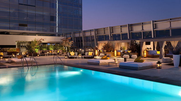 Property TheRitzCarltonLosAngeles Hotel PublicSpaces RooftopPool TheRitzCarltonHotelCompanyLLC