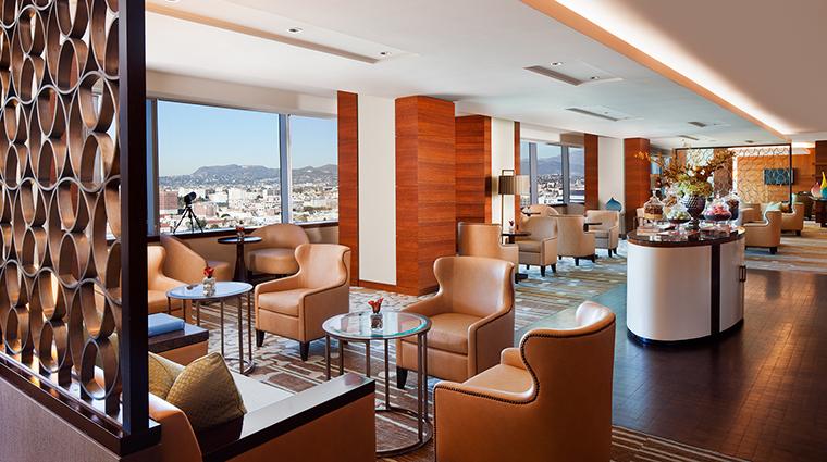 Property TheRitzCarltonLosAngeles Hotel PublicSpaces TheRitzCarltonClubLounge TheRitzCarltonHotelCompanyLLC