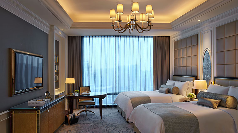 Property TheRitzCarltonMacau Hotel GuestroomSuite TwoBedroomSuiteSecondBedroomwithDoubleBeds TheRitzCarltonHotelCompanyLLC