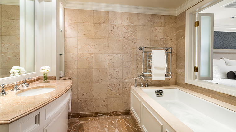 Property TheRitzCarltonSanFrancisco Hotel GuestroomSuite PresidentialSuiteBathroomwithJacuzzi TheRitzCarltonHotelCompanyLLC