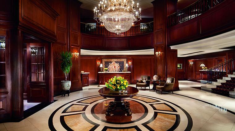 Property TheRitzCarltonSantiago Hotel PublicSpaces Lobby TheRitzCarltonHotelCompanyLLC