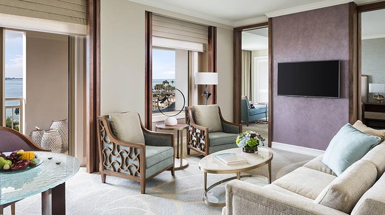 Property TheRitzCarltonSarasota Hotel GuestroomSuite CornerSuiteLivingRoom TheRitzCarltonHotelCompanyLLC