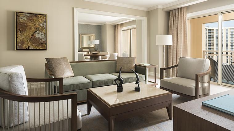 Property TheRitzCarltonSarasota Hotel GuestroomSuite SarasotaSuiteLivingRoom&DiningRoom TheRitzCarltonHotelCompanyLLC