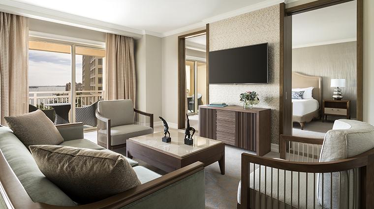 Property TheRitzCarltonSarasota Hotel GuestroomSuite SarasotaSuiteLivingRoom TheRitzCarltonHotelCompanyLLC