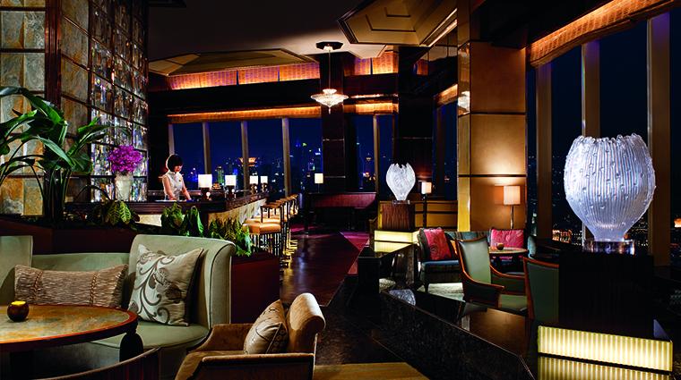 Property TheRitzCarltonShanghaiPudong Hotel BarLounge Aura TheRitzCarltonHotelCompanyLLC