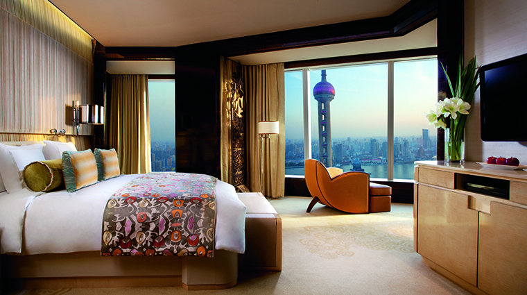 Property TheRitzCarltonShanghaiPudong Hotel GuestroomSuite ExecutiveStudio TheRitzCarltonHotelCompanyLLC