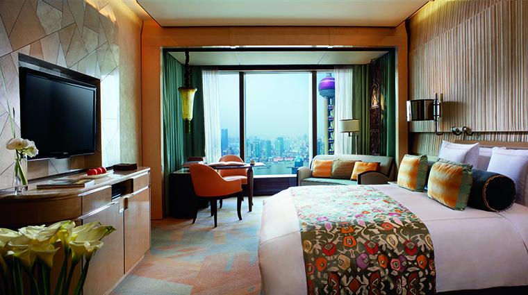 Property TheRitzCarltonShanghaiPudong Hotel GuestroomSuite RiverviewRoom TheRitzCarltonHotelCompanyLLC