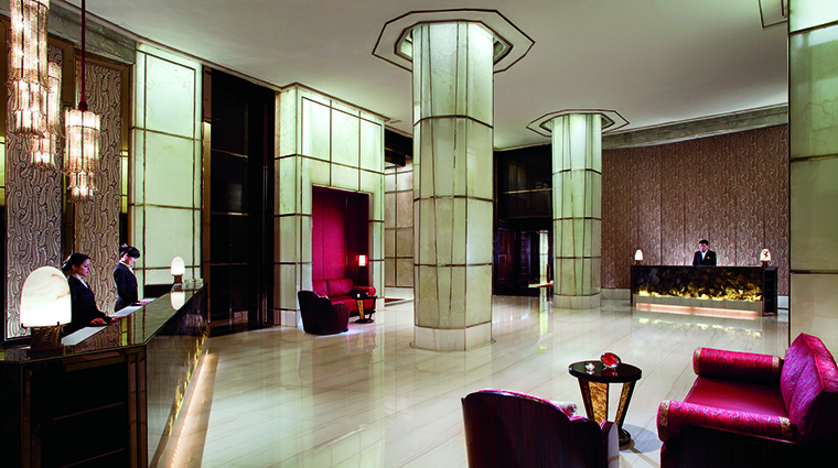 Property TheRitzCarltonShanghaiPudong Hotel PublicSpaces Lobby TheRitzCarltonHotelCompanyLLC