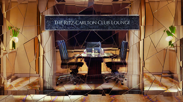 Property TheRitzCarltonShanghaiPudong Hotel PublicSpaces TheRitzCarltonClubLounge TheRitzCarltonHotelCompanyLLC
