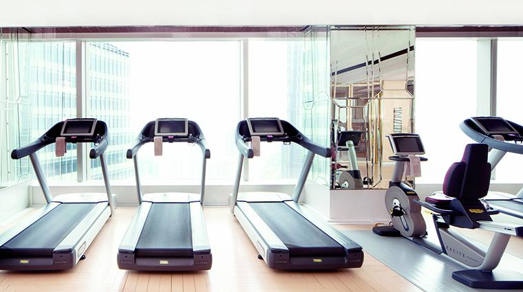 Property TheRitzCarltonShanghaiPudong Hotel Spa FitnessStudio TheRitzCarltonHotelCompanyLLC