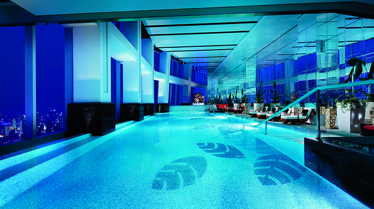 Property TheRitzCarltonShanghaiPudong Hotel Spa IndoorPool TheRitzCarltonHotelCompanyLLC