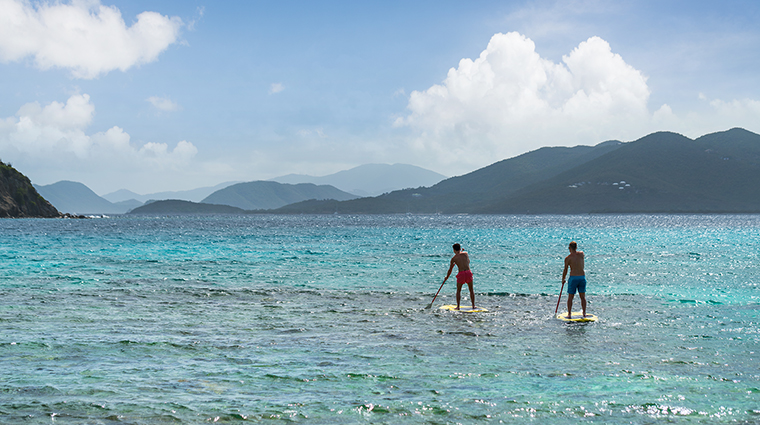 Property TheRitzCarltonStThomas Hotel Activities PaddleBoarding TheRitzCarltonHotelCompanyLLC