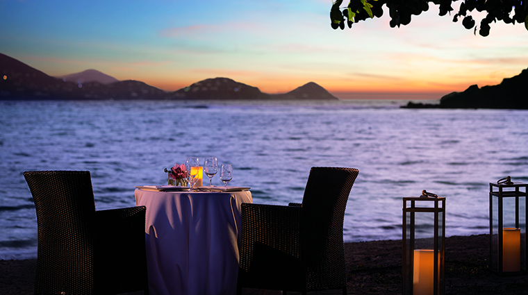 Property TheRitzCarltonStThomas Hotel Dining DiningontheBeach TheRitzCarltonHotelCompanyLLC
