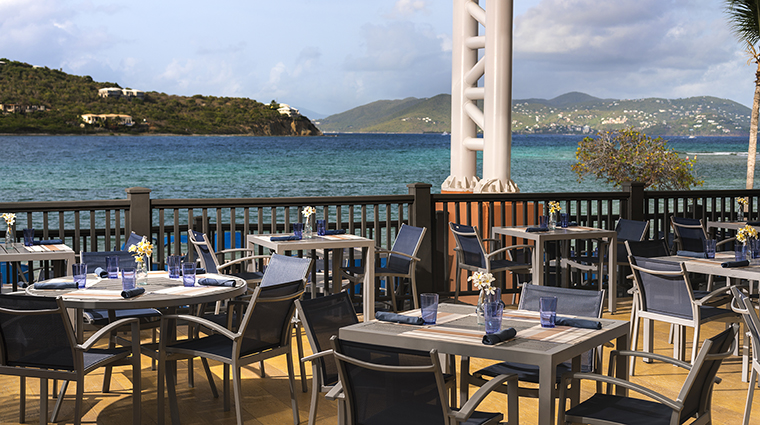 Property TheRitzCarltonStThomas Hotel Dining Sails TheRitzCarltonHotelCompanyLLC