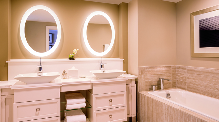 Property TheRitzCarltonStThomas Hotel GuestroomSuite GuestBathroom TheRitzCarltonHotelCompanyLLC