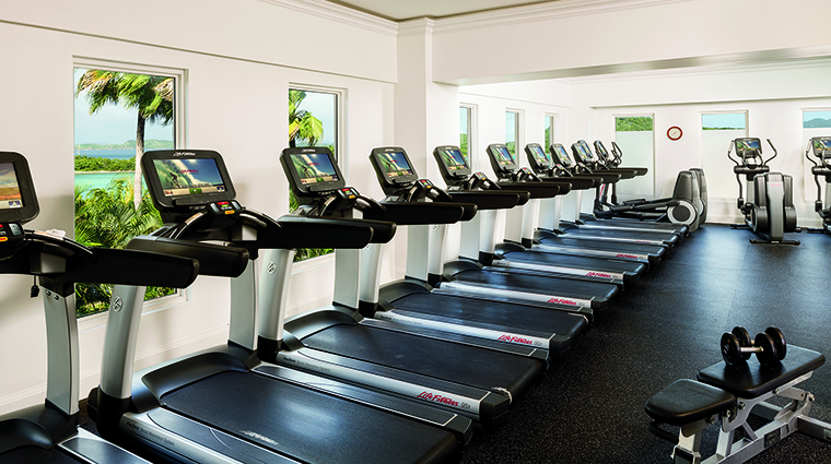 Property TheRitzCarltonStThomas Hotel PublicSpaces FitnessCenter TheRitzCarltonHotelCompanyLLC