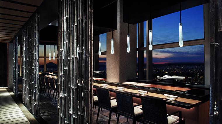 Property TheRitzCarltonTokyo Hotel Dining HinokizakaSushi TheRitzCarltonHotelCompanyLLC