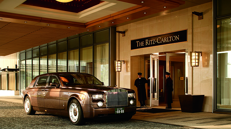 Property TheRitzCarltonTokyo Hotel Exterior Entrance TheRitzCarltonHotelCompanyLLC