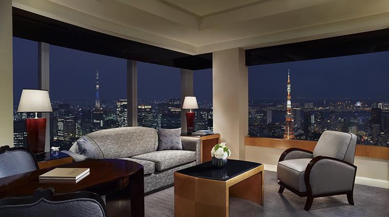 Property TheRitzCarltonTokyo Hotel GuestroomSuite MilleniaSuiteLivingRoom TheRitzCarltonHotelCompanyLLC