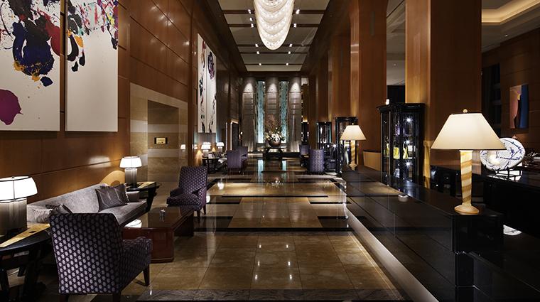 Property TheRitzCarltonTokyo Hotel PublicSpaces Lobby TheRitzCarltonHotelCompanyLLC