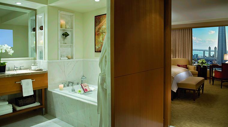 Property TheRitzCarltonToronto Hotel GuestroomSuite LuxuryDeluxeBathroom TheRitzCarltonHotelCompanyLLC