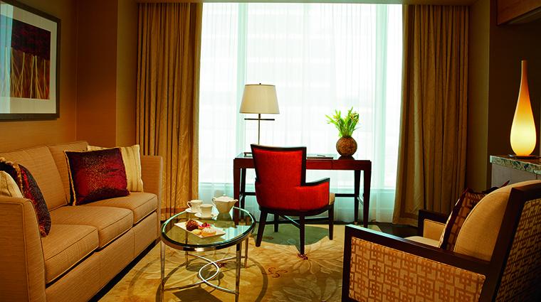 Property TheRitzCarltonToronto Hotel GuestroomSuite OneBedroomCornerSuiteLivingRoom TheRitzCarltonHotelCompanyLLC