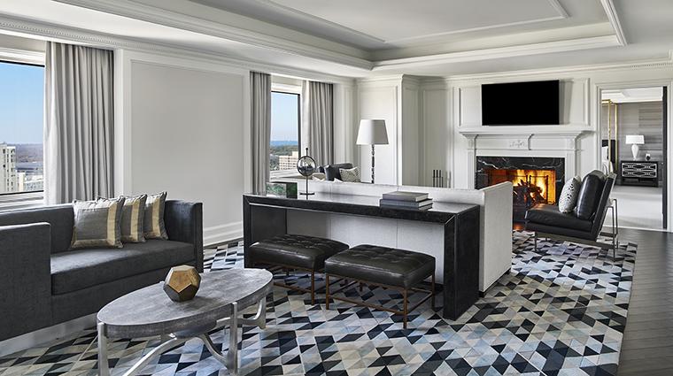 Property TheRitzCarltonTysonsCorner Hotel GuestroomSuite PresidentialSuiteLivingArea2 TheRitzCarltonHotelCompanyLLC