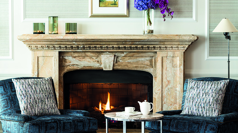 Property TheRitzCarltonWashingtonDC Hotel BarLounge TheClubLoungeFireplace TheRitzCarltonHotelCompanyLLC
