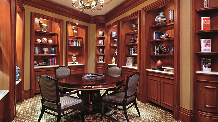 Property TheRitzCarltonWashingtonDC Hotel PublicSpaces Library TheRitzCarltonHotelCompanyLLC