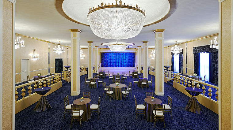 Property TheRooseveltNewOrleans Hotel PublicSpaces BlueRoom HiltonWorldwide