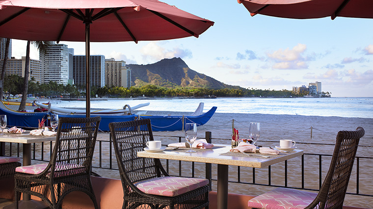 Property TheRoyalHawaiian Hotel Dining SurfLanaiRestaurant StarwoodHotels&ResortsWorldwideInc