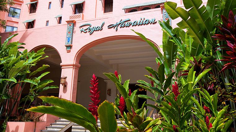 Property TheRoyalHawaiian Hotel Exterior Entrance StarwoodHotels&ResortsWorldwideInc