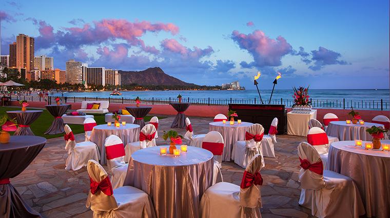 Property TheRoyalHawaiian Hotel PublicSpaces MonarchTerrace StarwoodHotels&ResortsWorldwideInc