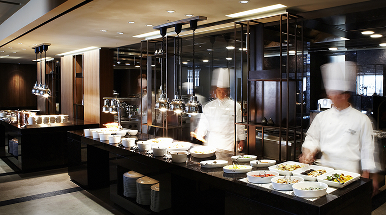Property TheShillaSeoul Hotel Dining TheParkviewLiveKitchen TheShillaHotels&Resorts