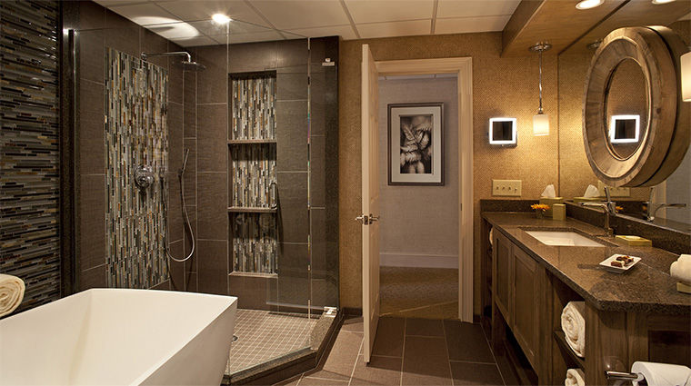 Property TheSpaatChateauElan 7 Spa Style SpaGuestSuiteBathroom CreditChateauElan
