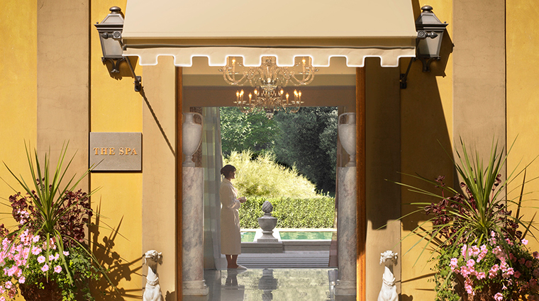 Property TheSpaatFourSeasonsHotelFirenze Spa Entrance FourSeasonsHotelsLimited