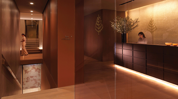 Property TheSpaatFourSeasonsHotelMilano Spa Entrance&Reception FourSeasonsHotelsLimited