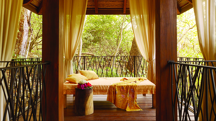 Property TheSpaatFourSeasonsResortCostaRica Spa OutdoorTreatmentArea FourSeasonsHotelsLimited